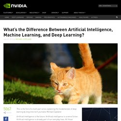 The Difference Between AI, Machine Learning, and Deep Learning?
