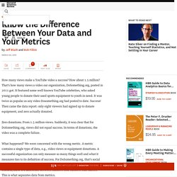 Know the Difference Between Your Data and Your Metrics