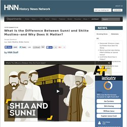 What Is the Difference Between Sunni and Shiite Muslims