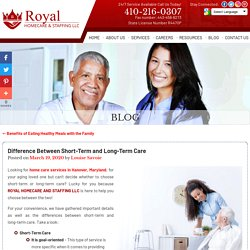Difference Between Short-Term and Long-Term Care