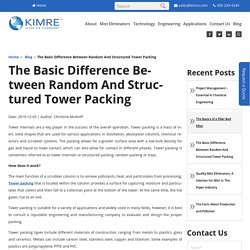 The Basic Difference Between Random And Structured Tower Packing