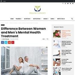Difference Between Women and Men's Mental Health Treatment