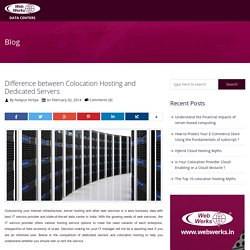 Choosing colocation hosting vs Dedicated Hosting