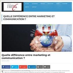 Quelle différence entre marketing et communication ?