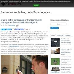 Quelle est la différence entre Community Manager et Social Media Manager ?