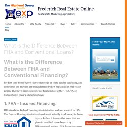 FHA and Conventional Mortgages Explored