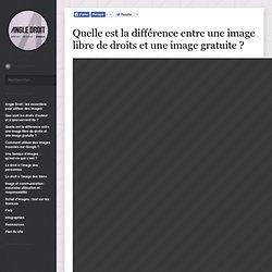 Quelle est la différence entre une image libre de droits et une image gratuite ? - Angle Droit, les essentiels pour utiliser des images