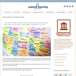 What Is the Difference Between State and Federal Courts?