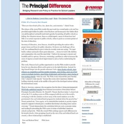The Principal Difference: A School Leadership Blog by Mel Riddile: PISA: It's Poverty Not Stupid