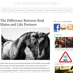 The Difference Between Soul Mates and Life Partners