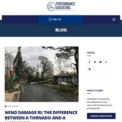 Wind Damage RI: The Difference Between A Tornado And A Hurricane