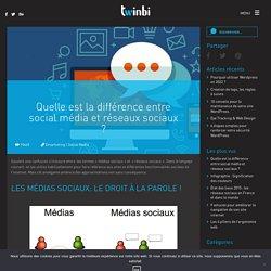 Quelle est la différence entre social média et réseaux sociaux ? - Twinbi