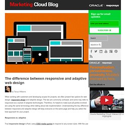 The difference between responsive and adaptive web design - Marketing Cloud Blog