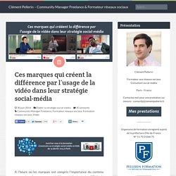Ces marques qui créent la différence par l'usage de la vidéo dans leur stratégie social-média