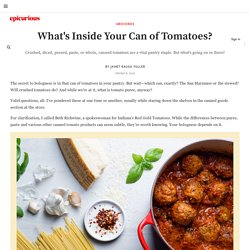 What's the Difference Between Types of Canned Tomatoes