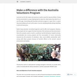 Make a difference with the Australia Volunteers Program