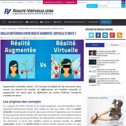 Quelles différences entre réalité augmentée, virtuelle et mixte ?