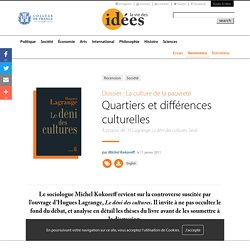Quartiers et différences culturelles