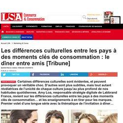 Les différences culturelles entre les pays à...