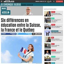 Six différences en éducation entre la Suisse, la France et le Québec