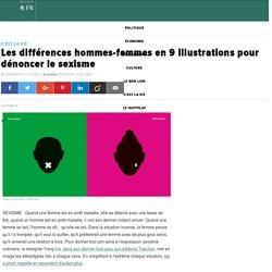 Les différences hommes-femmes en 9 illustrations pour dénoncer le sexisme