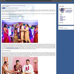 Major Differences In North And South Indian Marriages