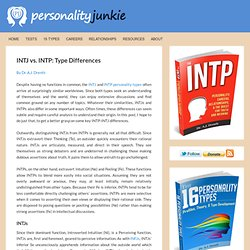INTJ vs. INTP: Type Differences