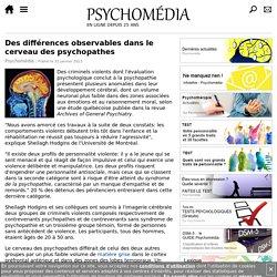 Des différences observables dans le cerveau des psychopathes