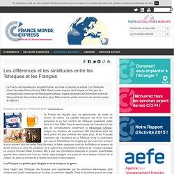 Les différences et les similitudes entre les Tchèques et les Français