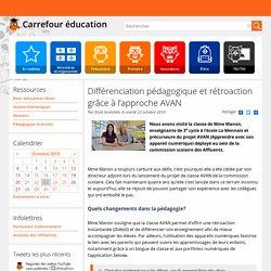 Différenciation pédagogique et rétroaction grâce à l'approche AVAN