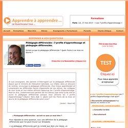 Pédagogie différenciée : 7 profils d'apprentissage et pédagogie différenciée.
