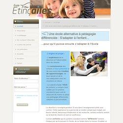 Ecole alternative près de Lyon à pédagogie adaptée, différenciée et personnalisée