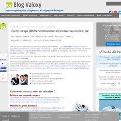 Qu'est-ce qui différencient un bon et un mauvais indicateur - Valoxy, Expert Comptable Lille