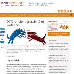 Différencier agressivité et violence