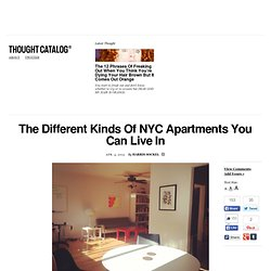 The Different Kinds Of NYC Apartments You Can Live In