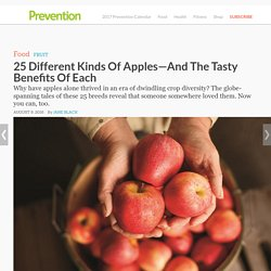 25 Different Kinds Of Apples—And The Tasty Benefits Of Each : Gravenstein