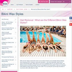 Different Bikini Wax Styles