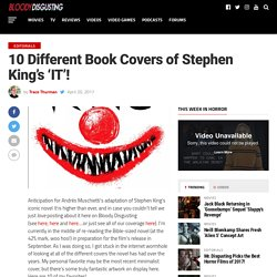 10 Different Book Covers of Stephen King's 'IT'!