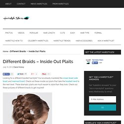 Different Braids - Inside Out Plaits