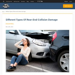 Different Types Of Rear-End Collision Damage