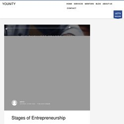 Seven Different Stages Of Entrepreneurship - Younity.in