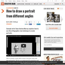 How to draw a portrait from different angles