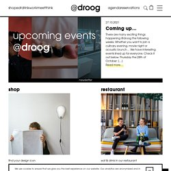 Droog - a different perspective on design