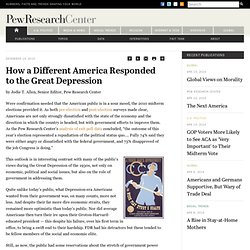 How a Different America Responded to the Great Depression