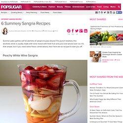 Different Sangria Recipes