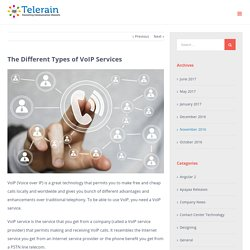 The Different Types of VoIP Services