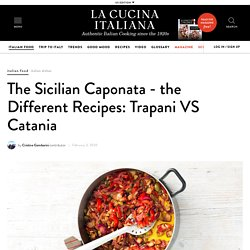The Different Recipes of the Sicilian Caponata - La Cucina Italiana