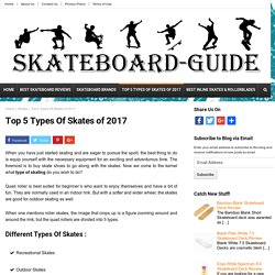 Top 5 Different Types of Skates of 2017