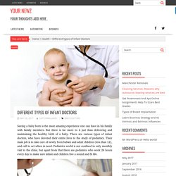 Different types of Infant Doctors