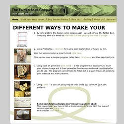 Different Ways to Make Your Own Pattern